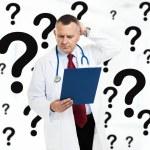 Doctor in de gedachte — Stockfoto