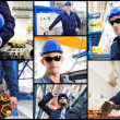 Industrial workers — Stock Photo