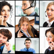 Stock Photo: Customer representatives