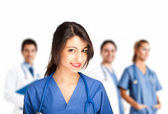 Nurse portrait — Stock Photo