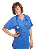 Nurse portrait — Stock Photo