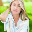Stock Photo: Mature woman portrait