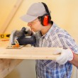 Carpenter at work — Stock Photo #32801455