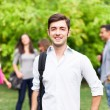 Smiling student portrait — Stock Photo