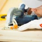 Carpenter at work — Stock Photo #32802145