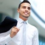 Young successful businessman portrait — Stock Photo