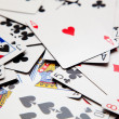 Many playing cards — Stock Photo #32802719
