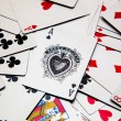 Many playing cards — Stock Photo #32802989
