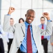 Stockfoto: Happy businessman