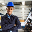 Stock Photo: Worker portrait