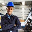 retrato do trabalhador — Foto Stock