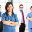 Medical team — Foto Stock #34299605