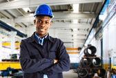 Arbetstagaren porträtt — Stockfoto