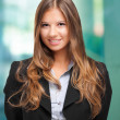 Stockfoto: Smiling businesswoman