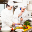 Chefs at work — Stock Photo #34714941