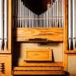 Pipe organ — Stock Photo