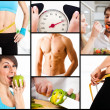 Nutrition and weight loss — 图库照片
