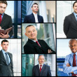 Stock Photo: Businessmen portraits
