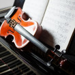 Classical music concept — Stock Photo