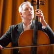Mplaying cello — Stock Photo #35658451