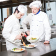 Chefs at work — Stock Photo #36074205