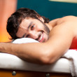 Man lying on a massage table — Stock Photo #36074795