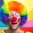 Funny clown — Stockfoto