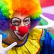 Stock Photo: Funny clown