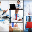 Foto Stock: Doctors at work