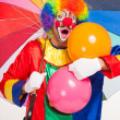 colorful clown — Stock Photo