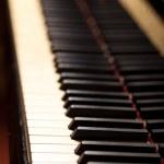 Piano keyboard — Stock Photo