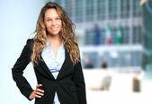 Confident entrepreneur portrait — Stock Photo