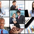Business persons at work — Stock Photo