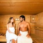Постер, плакат: Sauna bath