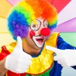 Clown giving thumbs up — Stock Photo #36981847
