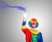 Clown drawing — Stock Photo