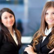 Two business women — Stock Photo #38774561