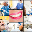 Dentist at work — Stock Photo