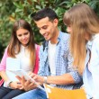Studing students — Stock Photo #38775323