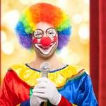 Funny clown — Stock Photo #38775753