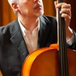 Mplaying cello — Stock Photo #38776593