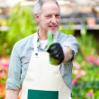 Mature gardener — Stock Photo #38776663