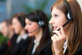 Customer representative — Stock Photo