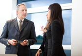 Portrait of business people — Stock Photo
