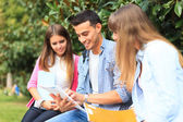 Studing students — Stock Photo
