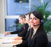 Customer representative — Stock Photo