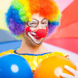 Funny clown — Stock Photo #40070361