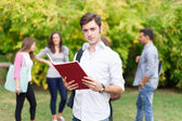 Student outdoor — Stock Photo