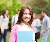 Smiling student — Stock Photo