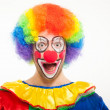 Clown portrait — Stock Photo